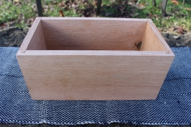 Handmade wooden box